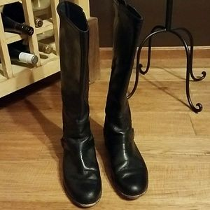 Women's size 9 UGG black boots-$45